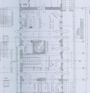Plan Bahnhofshalle Augsburg