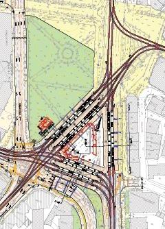 Gleisanlagen am KÖ nach BPlan500 und Vorgabe der STAWA