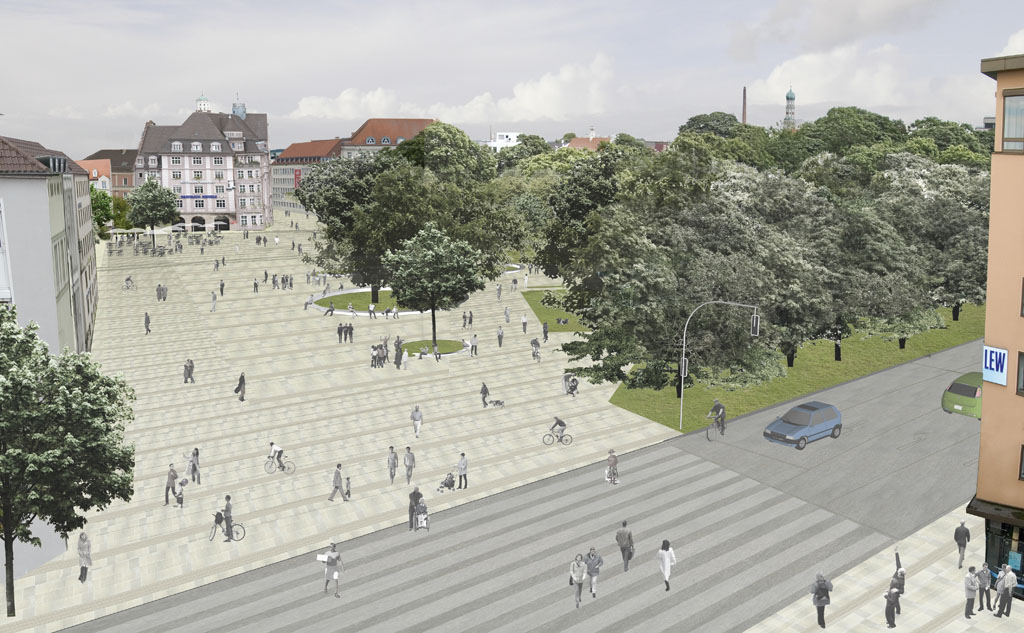 Neuer urbaner Streifen-KÖ - Wunderle-Stumpf-Billinger