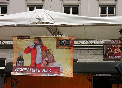 Fickenstand auf dem Maxfest