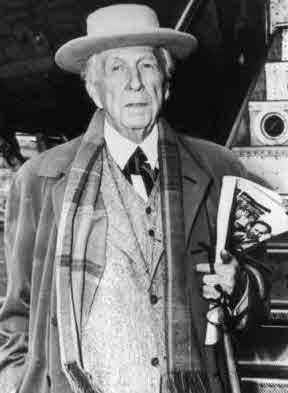 Der Architekt Frank Lloyd Wright 1867-1959