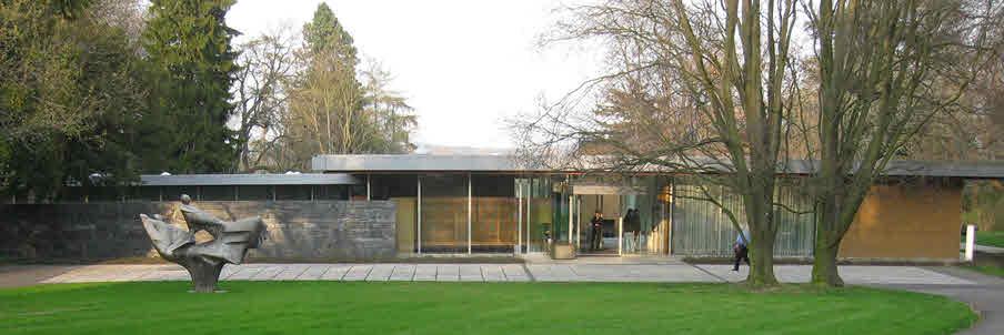 Kanzlerbungalow 1963-1966 - Architekt Sepp Ruf