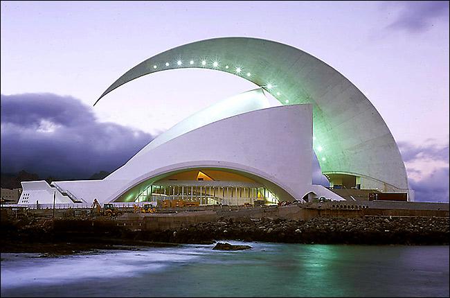 Auditorio de Tenerife in Teneriffa