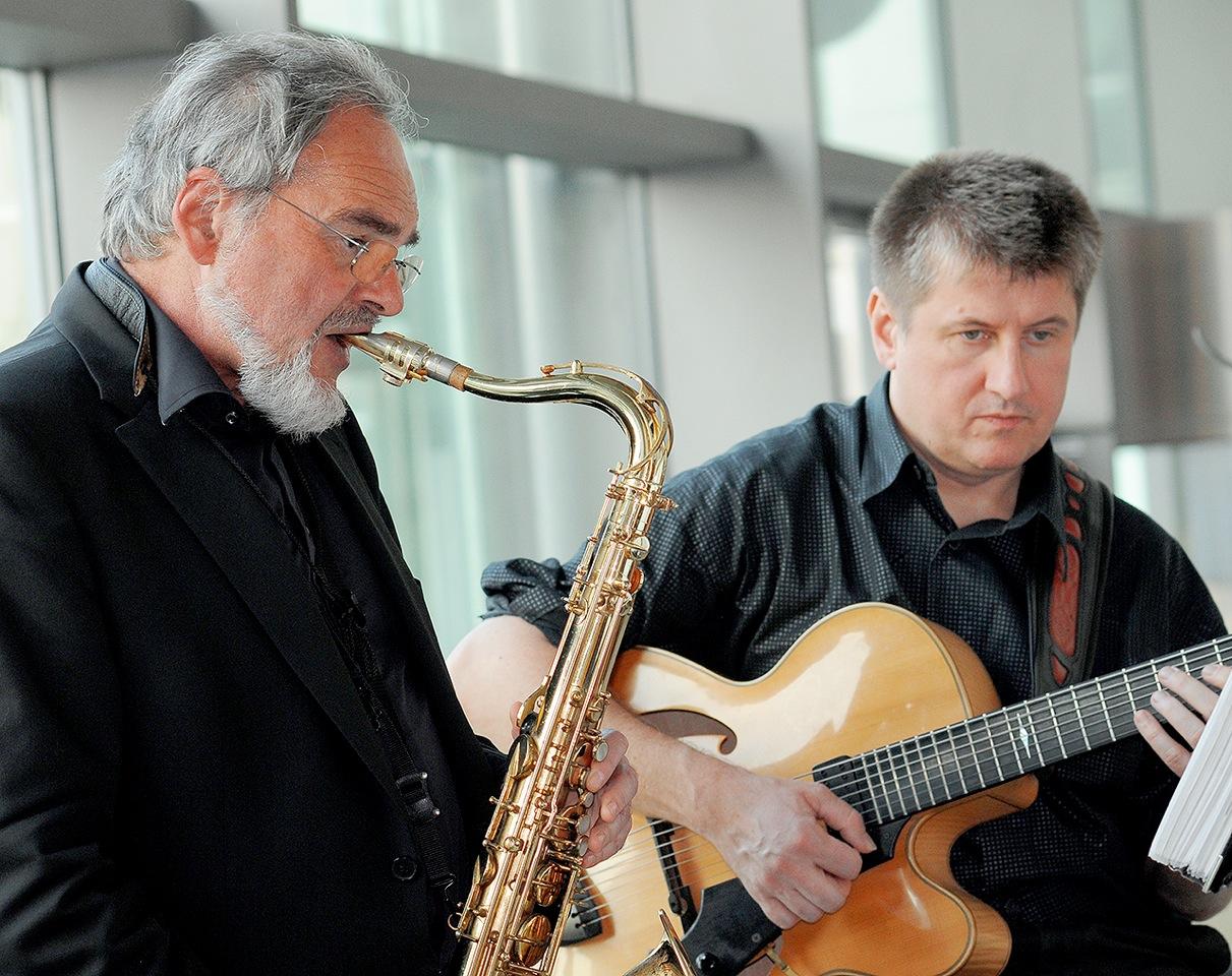 Reinhold Bauer/Dietmar Liehr Jazz Duo