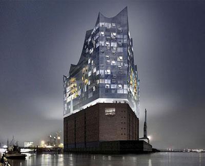 Elbphilharmonie Hamburg im Bau (2012)