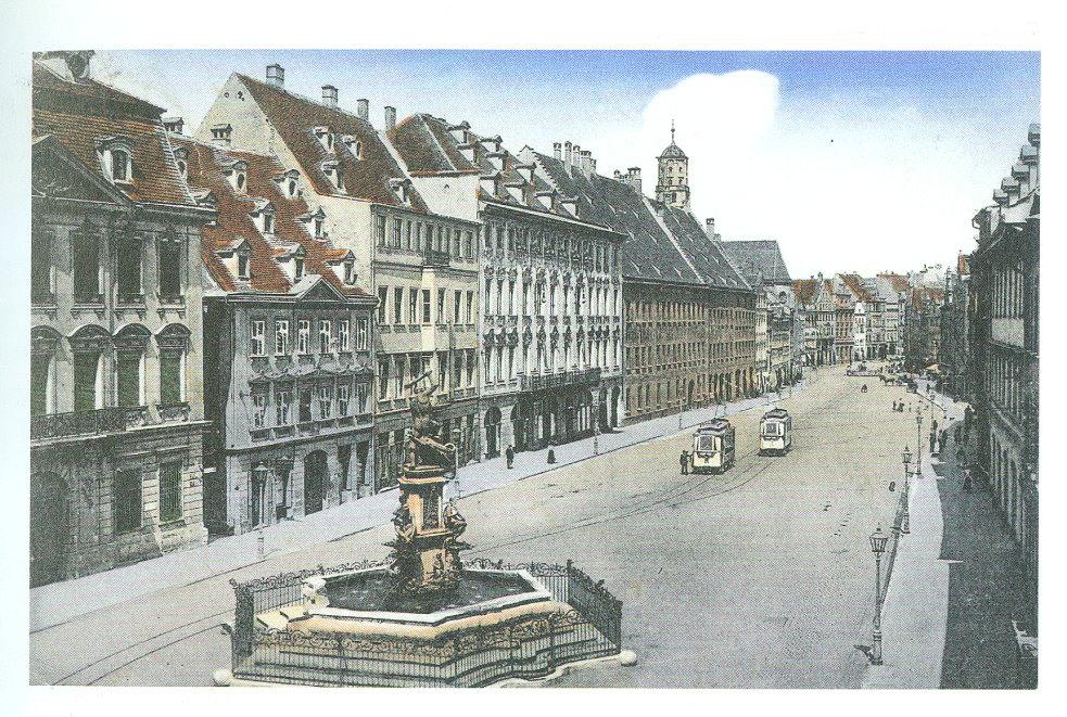 Historische Maxtram 1910