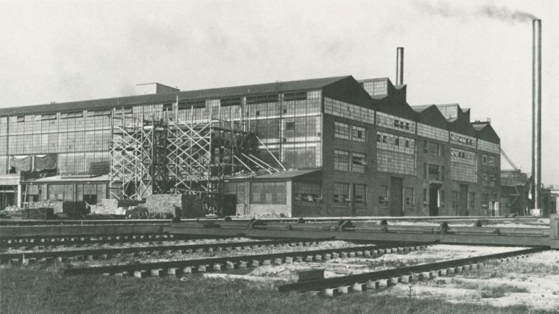 Ford Factory River Rouge Complex Dearborn, Michigan 1920