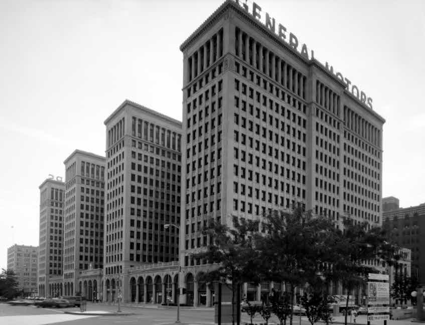 General – Motors Building in Detroit 1923