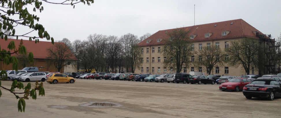 Aus dem Exerzierplatz wird ein Parkplatz