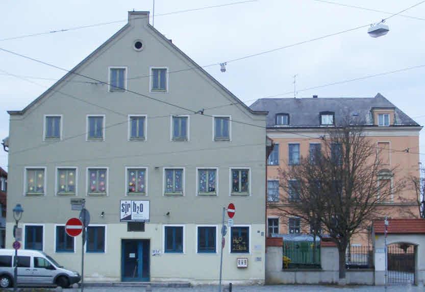 Heutige Ansicht zur Hirblingerstraße
