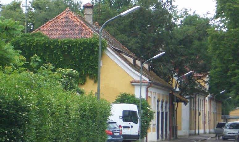Hufschmiede und Wirtschaftsgebäude