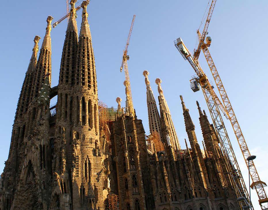 Dauerbaustelle Sagrada Familia