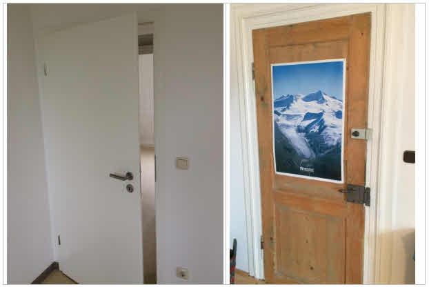 Neue Türe - Alte Türe