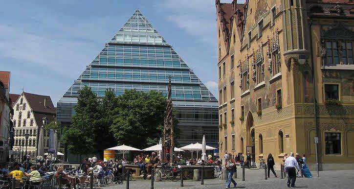 Zentralbibliothek Ulm - Gottfried Böhm