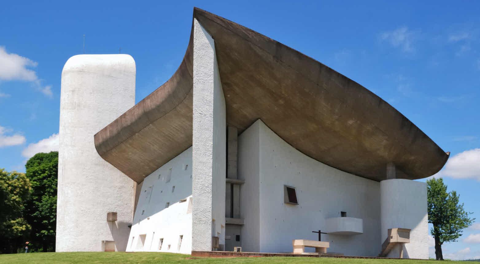 Wallfahrtskirche Notre-Dame-du-Haut de Ronchamp 1951–1955