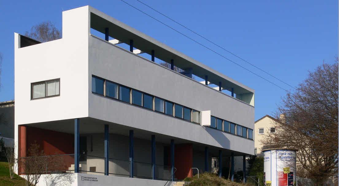 Wohnhaus Siedlung am Weißenhof in Stuttgart 1927