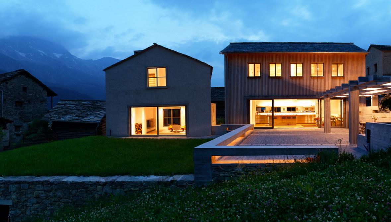 Atelier M Soglio, ruinelli architetti