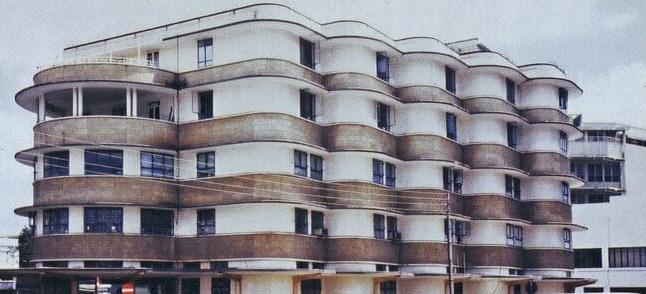 """Wohn- und Geschäftshaus """"Kenwood House"""", Nairobi 1937"""