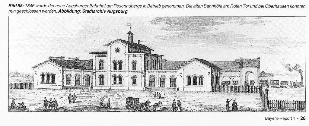 Der Rüberbahnhof von 1846