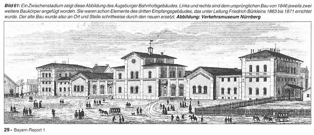 1854 wurde der Rüberbau durch zusätzliche seitliche Anbauten erweitert, die Zugangssituation mit den Treppen und den Wandelhallen blieb noch erhalten.
