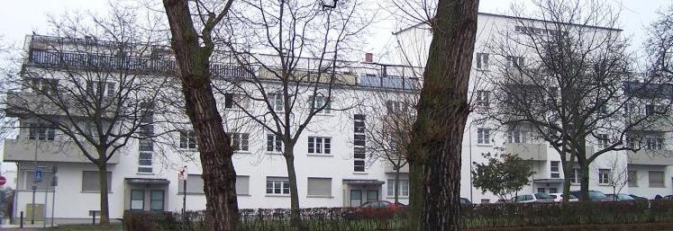 Wohnsiedlung Bornheimer Hang, Frankfurt am Main, 1926–1930.