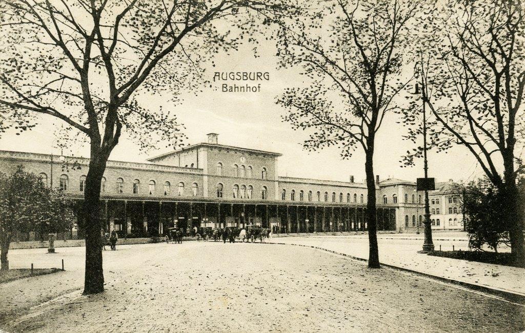 Bürkleinbahnhof: Zugang über fünf Stuf