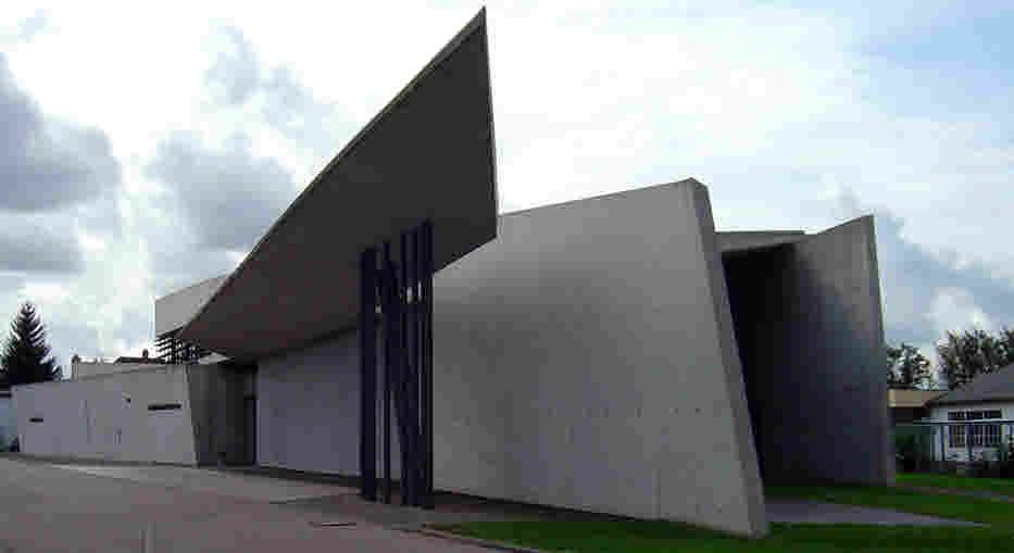 Erstes Projekt Feuerwehrhaus Vitra-Werk Weil am Rhein 1993
