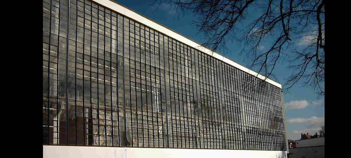Fassade Bauhaus Dessau