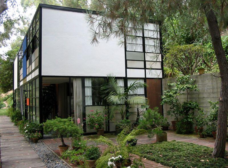 Das Haus der Eames, das Case Study House No. 8