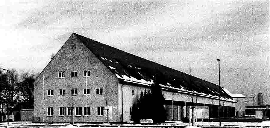 Historisches Foto der Halle 116