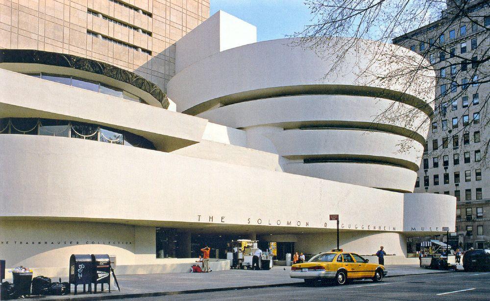 Guggenheimmuseum 1956 und 1959