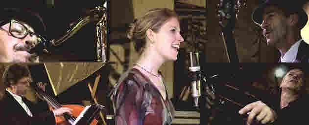 Nach dem Film Live-Jazz mit CoolTone  – Günter Schaipp-Saxophon; Christian Küster-Gitarre; Erwin Bier-Kontrabass; Laura Lendman-Vocal